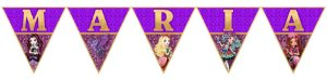 Bandeirinha Personalizada Ever After High