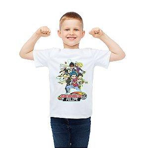 Camiseta Infantil Beyblade Burst