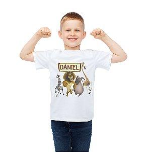 Camiseta Infantil Madagáscar