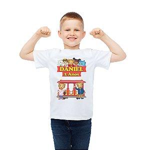 Camiseta Infantil Daniel Tigre