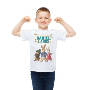 Camiseta Infantil Peter Rabbit