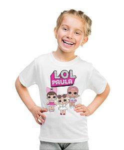 Camiseta Infantil Lol Surprise