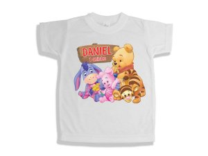 Camiseta Infantil Baby Pooh