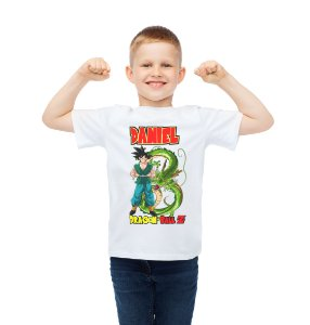 Camiseta Infantil Dragon Ball Z