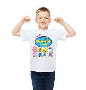Camiseta Infantil Pororo: O Pequeno Pinguim