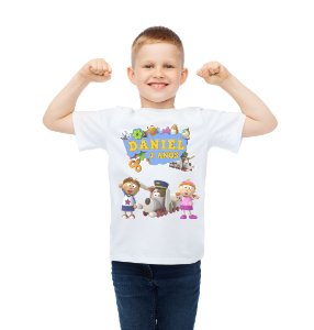 Camiseta Infantil Tickety Toc