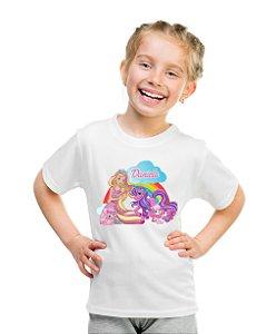 Camiseta Infantil Barbie Dreamtopia