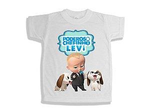 Camiseta Infantil Poderoso Chefinho