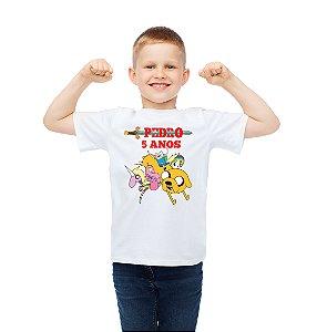 Camiseta Infantil Hora de Aventura