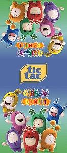 Adesivo personalizado para TicTac Oddbods
