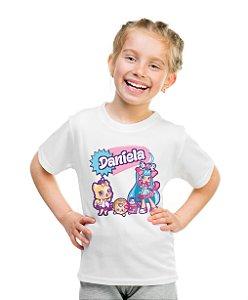 Camiseta Infantil Shopkins