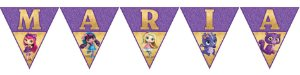Bandeirinha Personalizada Little Charmers