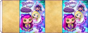 Embalagem com 2 rotulos Toddynho Little Charmers