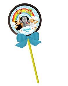 Adesivo personalizado para pirulito Baby TV