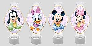 Embalagem com 8 apliques para Tubete Baby Disney