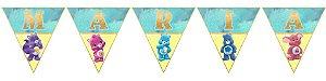 Bandeirinha Personalizada Ursinhos Carinhosos