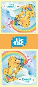 Adesivo personalizado para TicTac Ursinhos Carinhosos
