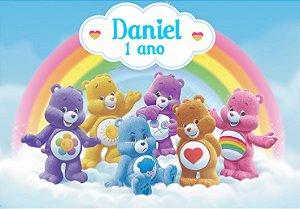 Painel TNT Ursinhos Carinhosos 001