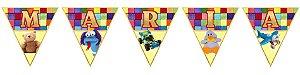 Bandeirinha Personalizada Brinquedos