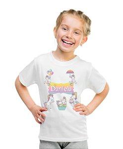 Camiseta Infantil Unicornio II