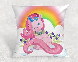 Almofada Personalizada para festa Unicornio 006