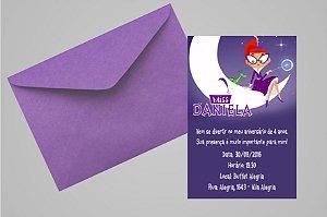 Convite 10x15 Miss Moon