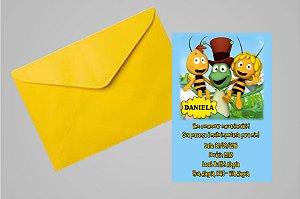 Convite 10x15 A Abelha Maia