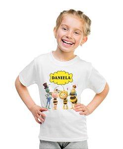 Camiseta Infantil A Abelha Maia