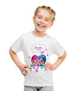 Camiseta Infantil Shimmer e Shine