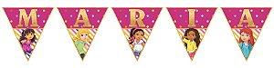 Bandeirinha Personalizada Dora e Seus Amigos na Cidade