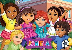 Painel TNT Dora e Seus Amigos na Cidade 002