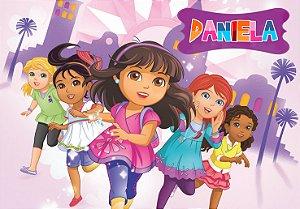 Painel TNT Dora e Seus Amigos na Cidade 001