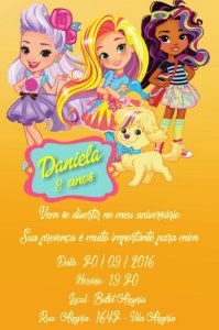 Convite digital personalizado Sunny Day 002
