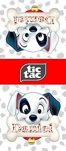 Adesivo personalizado para TicTac 101 Dalmatas