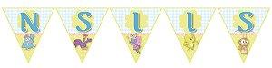 Bandeirinha Personalizada Galinha Pintadinha