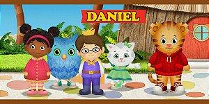 Adesivo para cofrinho personalizado Daniel Tigre