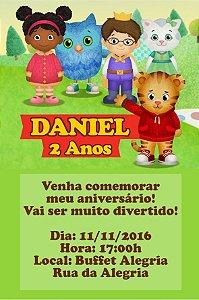 Convite digital personalizado Daniel Tigre