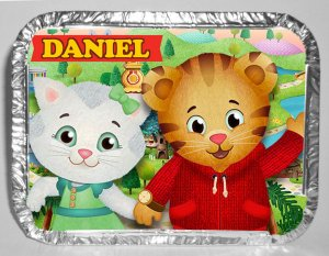 Marmitinha personalizada Daniel Tigre