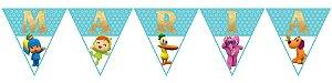 Bandeirinha Personalizada Pocoyo