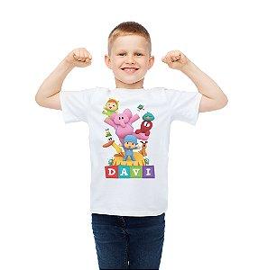 Camiseta Infantil Pocoyo