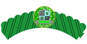 Pacote com 6 Wrappers Minecraft
