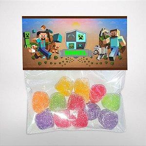 Solapa ou lapela personalizada Minecraft