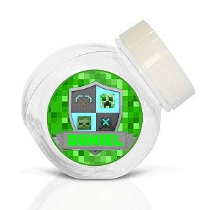 Embalagem com 40 adesivos baleirinho Minecraft