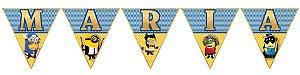 Bandeirinha Personalizada Minions