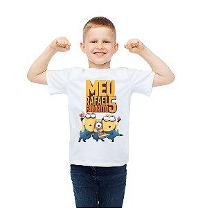 Camiseta Infantil Minions