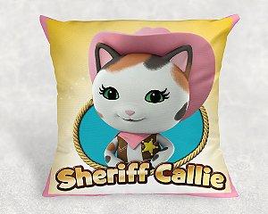 Almofada Personalizada para festa A Xerife Callie no Oeste 001