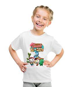 Camiseta Infantil A Xerife Callie no Oeste