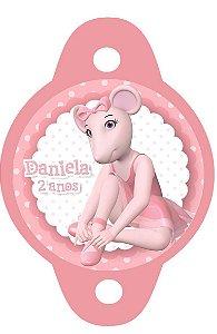 Tag para canudinho Angelina Bailarina