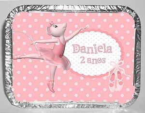 Marmitinha personalizada Angelina Bailarina