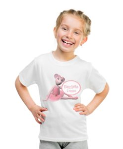 Camiseta Infantil Angelina Bailarina